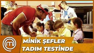 Minik Şefler Yemekleri Puanladı   MasterChef Türkiye 46.Bölüm