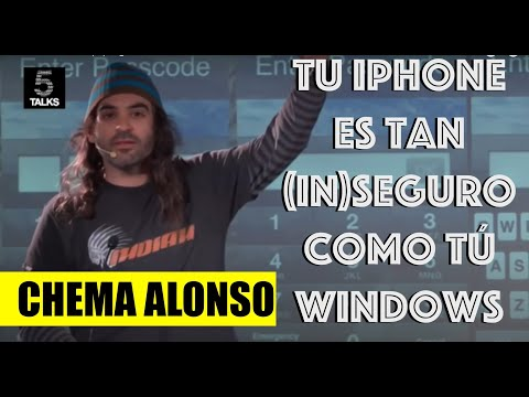 Tu iPhone es tan (in)seguro como tu Windows