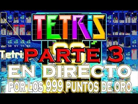 TETRIS 99 EN DIRECTO PARA CONSEGUIR ESOS PUNTOS DE ORO MyNintendo - STARGIN GAMES (PARTE 3)