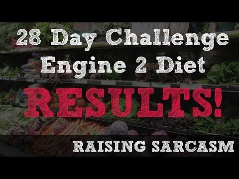 Engine 2 Diet - 28 Day Challenge - RESULTS