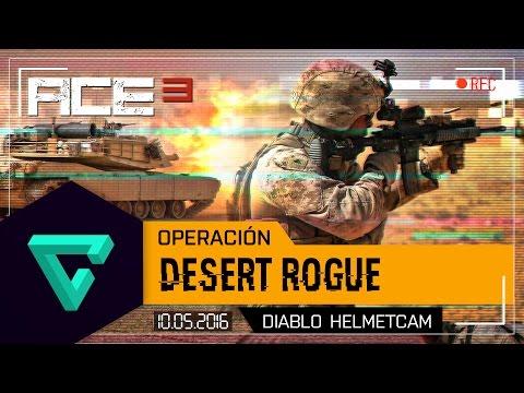 OPERACIÓN DESERT ROGUE- ARMA 3 - ACE3 - CLAN ESUS - DIABLO HELMETCAM