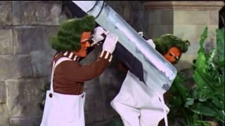 Willy Wonka HD  Oompa Loompa Augustus Gloop Song