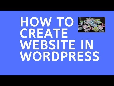 How to Create Website in wordpress - Step By Step Tutorial for Beginners thumbnail