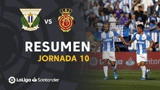 Resumen de CD Leganés vs RCD Mallorca (1-0)