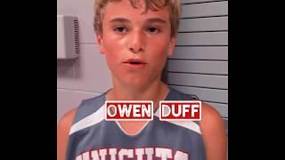 Follow My Journey: 2025 G Owen Duff Knights Basketball Academy
