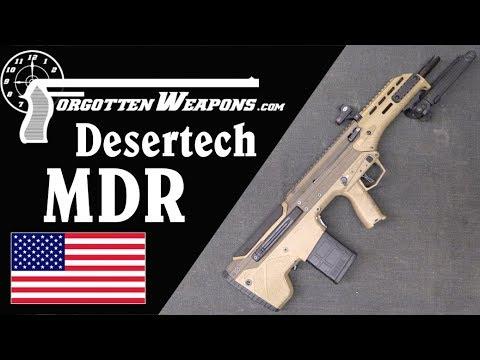 DeserTech 7.62mm MDR Teardown