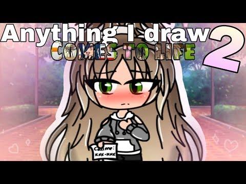 Anything I draw