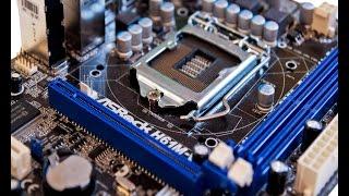 ремонт материнки ASRock H61M-VS - 4 коротких сигнала BIOS