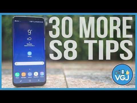 30 More Samsung Galaxy S8 Tips, Tricks, Features And Secrets - The Ultimate Guide Expanded!