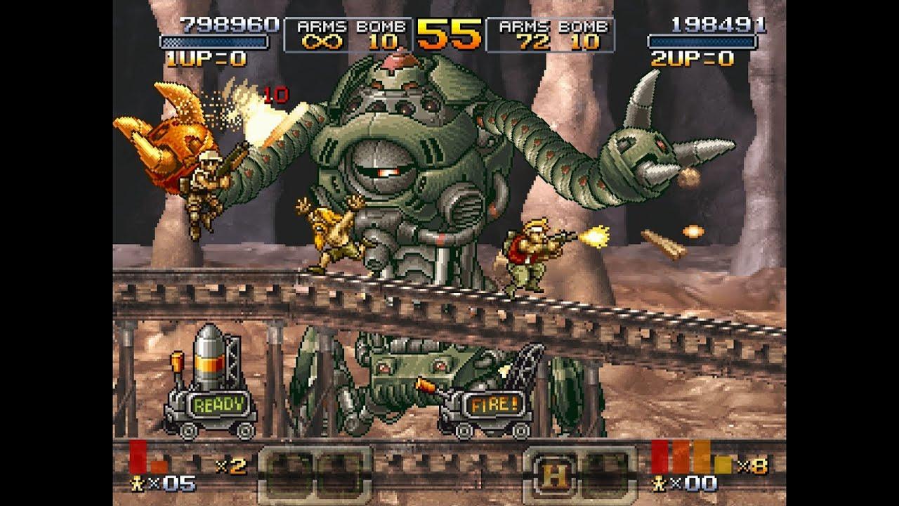 Metal Slug XX 2 player