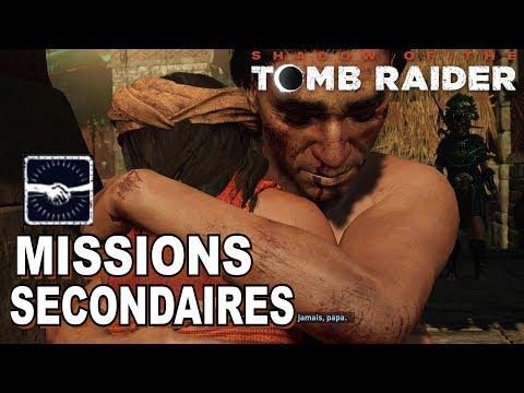 SHADOW OF THE TOMB RAIDER: Toutes les Missions Secondaires / Succès Bon Samaritain