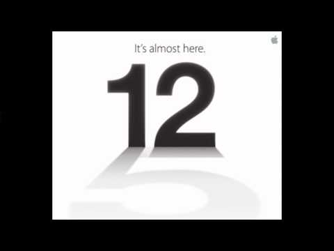 Apple iPhone 5 Announcement