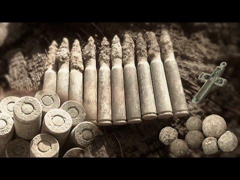 Metal Detecting WW2 German Mauser Ammo - Bitten Musket Ball { History Secrets }