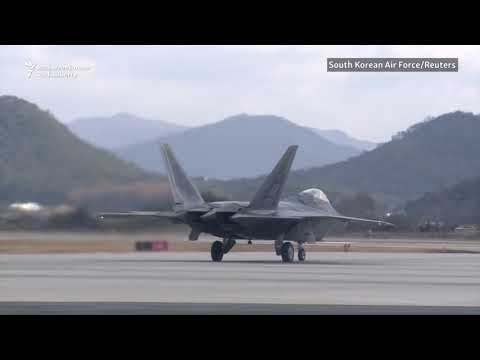 U.S., South Korea Launch Air Force Drills