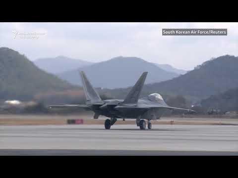 U.S., South Korea Launch Air Force Drills