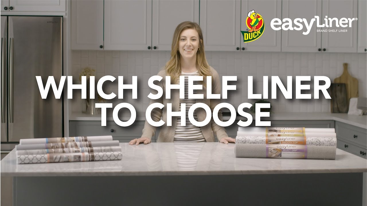 Which Shelf Liner To Use Easyliner Video Duck Brand