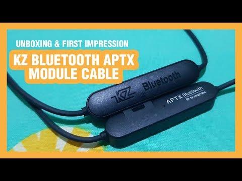 Berubah Menjadi WIRELESS!! - Unboxing KZ Bluetooth APTX Module Cable | Indonesia