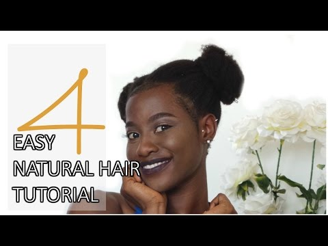 HOW I SLAY MY NATURAL HAIR | Easy and quick natural hairstyles | 4c natural hairstyles