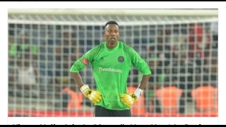 Happy Jele as a goalkeeper