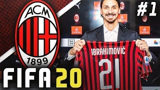 FIFA 20 AC Milan Career Mode EP1 - RETURN TO GLORY BEGINS!!