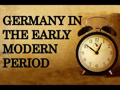 Germany in the early modern period