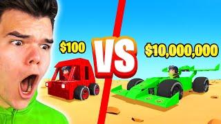 $100 vs. $10,000,000 SUPERCAR BUILD CHALLENGE! (Trailmakers)