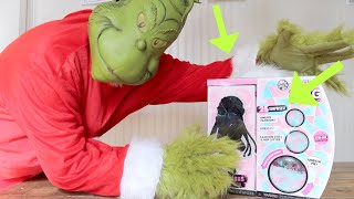 How the GRINCH Stole Our LOL Surprise OMG Winter Disco Doll!