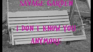 Savage Garden- I Don