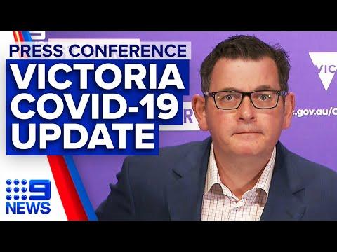 Coronavirus: Victoria Announces 725 New Cases, Melbourne Childcare Permits | 9News Australia