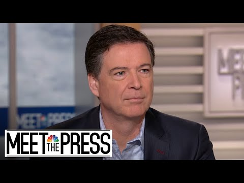 James Comey: \'Duty Bound\' Not To Talk On Ongoing Russia Investigation   Meet The Press   NBC News