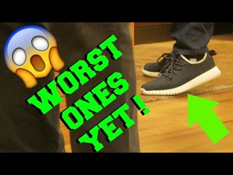 25c6a1083 WHY DO PEOPLE WEAR FAKE YEEZYS !  - YouTube