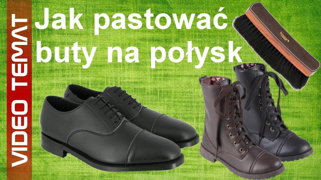 Jak Pastowac Skorzane Buty Na Polysk Youtube