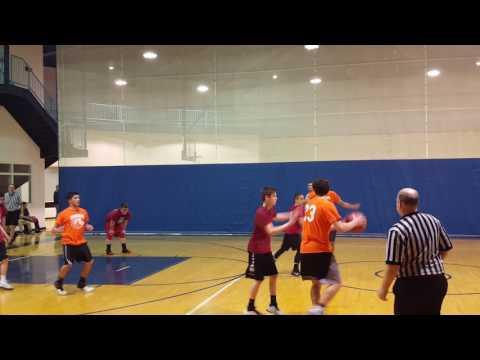 Shaarav's basketball game part 1 Brook Park Recreation 2-16-17