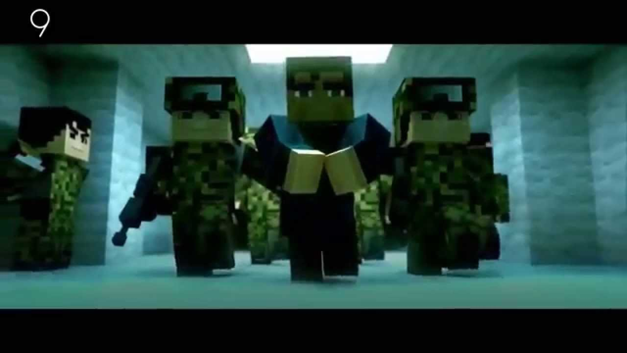 Best Minecraft Animations 2016 ( HD ) - Top 10/ Funny Minecraft Animation videos