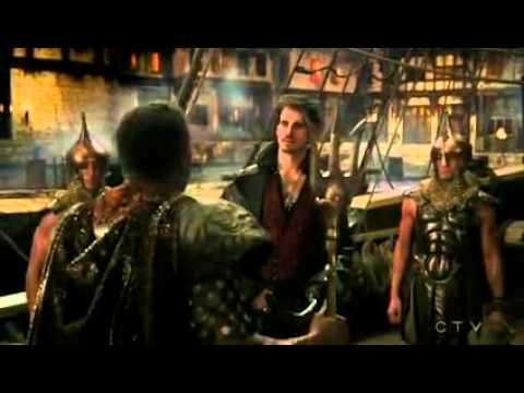 Hook & Poseidon Scene 4x16 Once Upon A Time