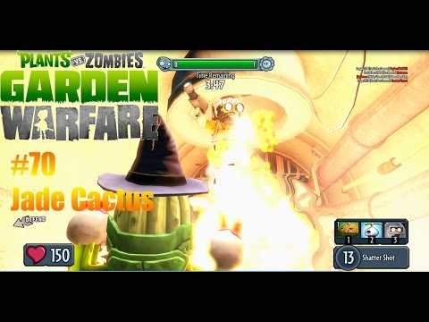 Plants Vs Zombies : Garden Warfare - #70 - Jade Cactus
