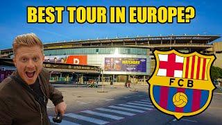 Gambar cover FC BARCELONA STADIUM TOUR! Camp Nou, The ULTIMATE Stadium Tour!