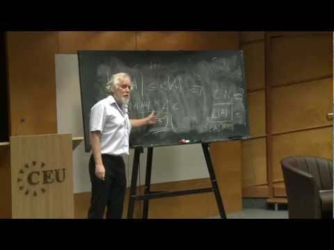 Abel Prize Laureate Endre Szemeredi Presents Lecture