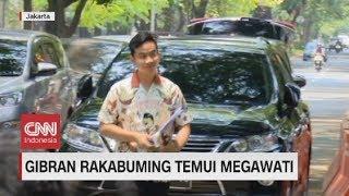 Gibran Rakabuming Temui Megawati