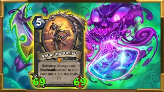 Hearthstone: Necrium Apothecary NERF! The Most Broken Rogue Deck Ever! Descent of Dragons New Decks