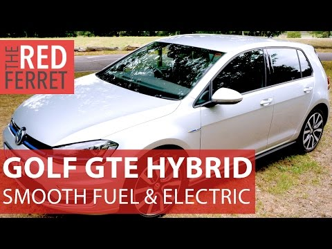 2015 VW Golf GTE Hybrid - fossils and electricity in perfect harmony [Review]