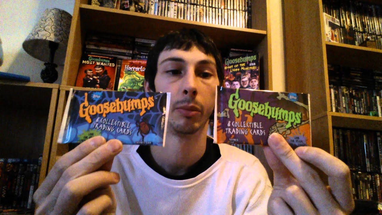 Goosebumps Collection Update #3 - YouTube