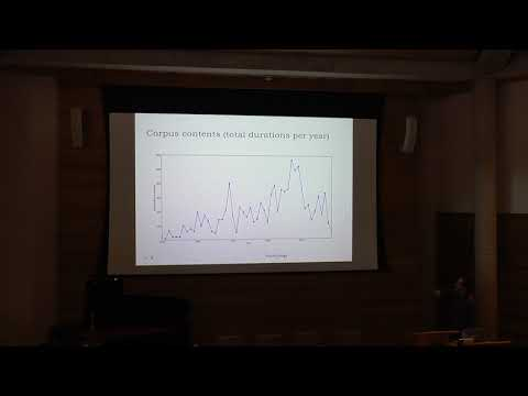Nick Collins, Musicological and creative applications for a new electronic music history corpus