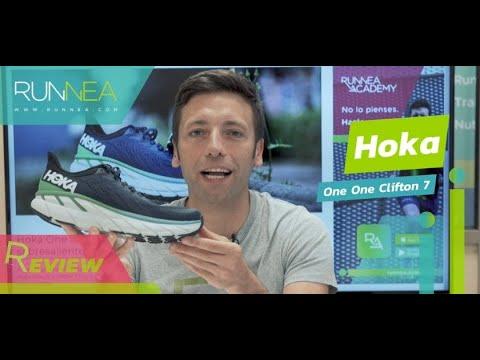 Hoka One One Clifton 7 Review: Máxima amortiguación, confort y ligereza para una respuesta dinámica