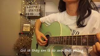 Tất Cả Sẽ Thay Em Lyrics - Phạm Quỳnh Anh | guitar cover | Lê Thuyên PT