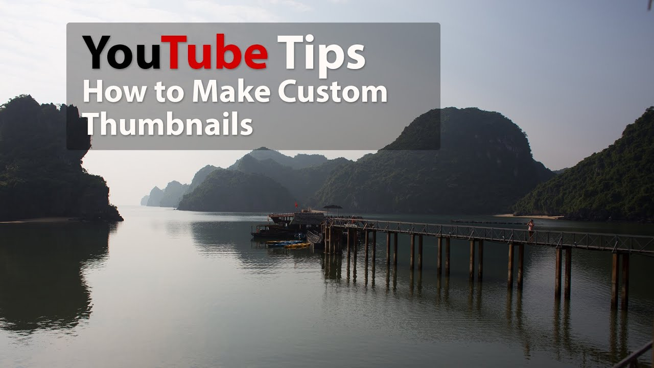 how to get custom youtube thumbnails