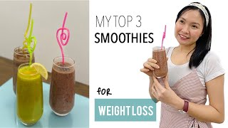 My Top 3 Weight Loss Smoothie Recipes  Easy Ingredients