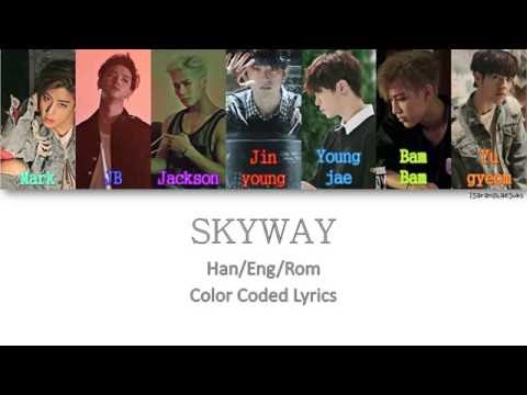 GOT7 - SKYWAY [Color Coded Han|Rom|Eng]