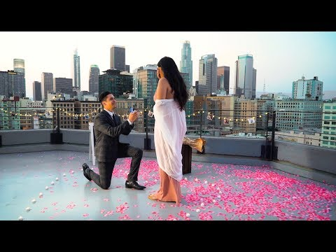 MOST ROMANTIC PROPOSAL EVER! This proposal will make you cry...