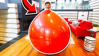 GIANT BALLOON CHALLENGE WITH UNSPEAKABLE!